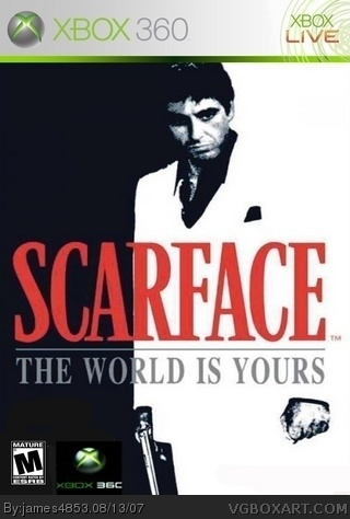 Scarface: The World Is Yours Xbox 360 Box Art Cover by ...