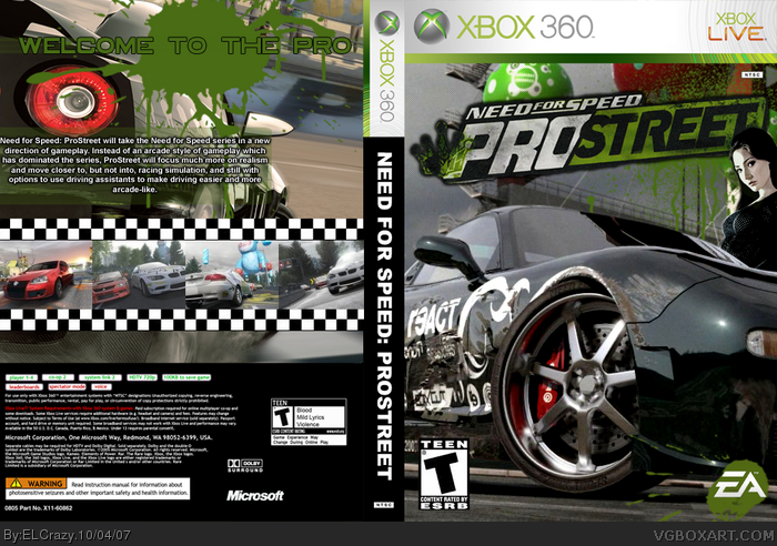need for speed prostreet crack