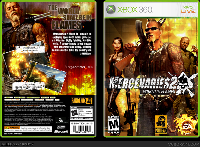 Mercenaries 2 world in flames chronozoom xboxhistory mercenaries 2 world in flames altavistaventures Images