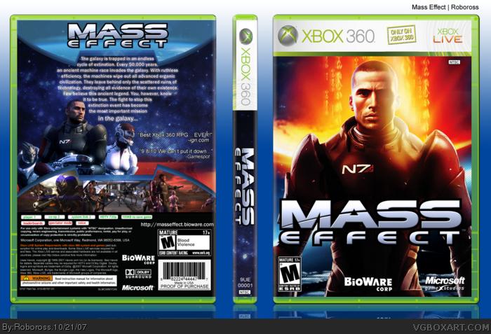 Mass Effect box art cover