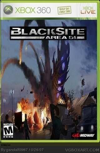 Blacksite: Area 51 box cover