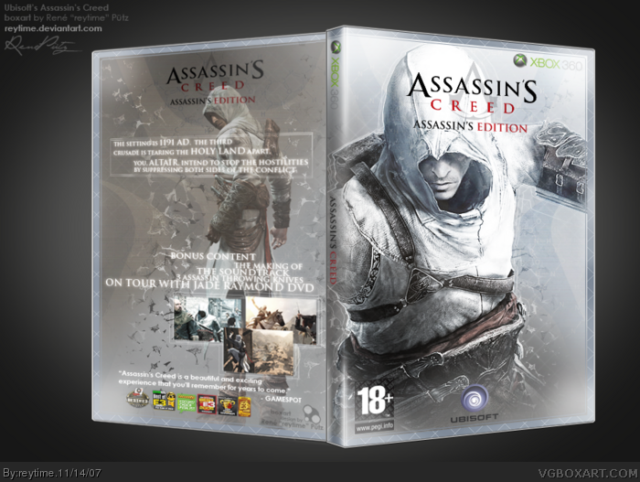 Assassin's Creed Special Edition box art cover
