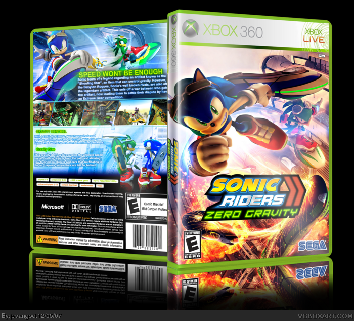 sonic riders 3 Gallery