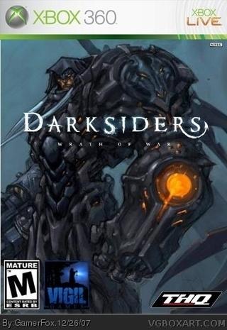 Darksiders Xbox 360 Box Art Cover By Gamerfox