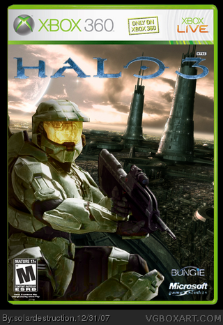 Halo 3 box cover