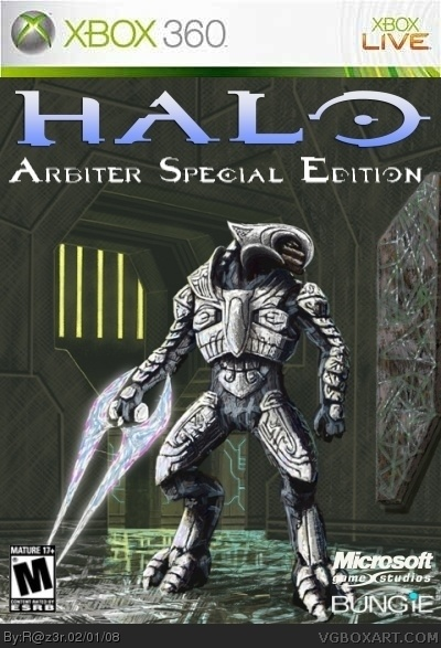 Halo: Arbiter Special Edition Xbox 360 Box Art Cover by R@z3r
