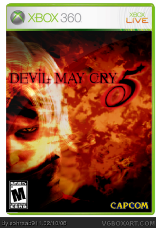 Devil May Cry 5 box cover