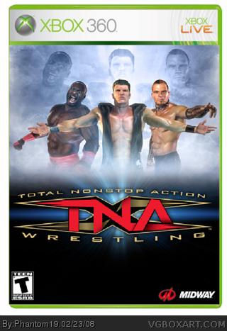 Tna Impact Xbox 360 Box Art Cover By Phantom19
