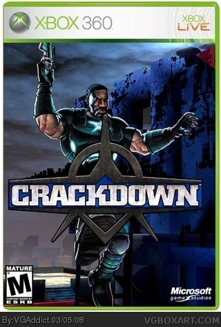 Crackdown box cover