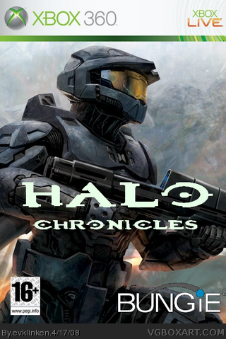 Halo Chronicles box cover
