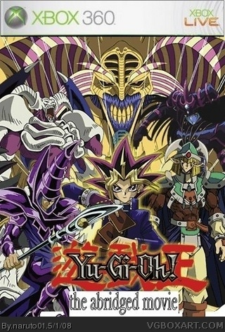 yugioh the abridged movie the official game xbox 360