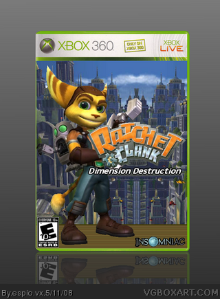 Ratchet and Clank: Dimension Destruction box cover