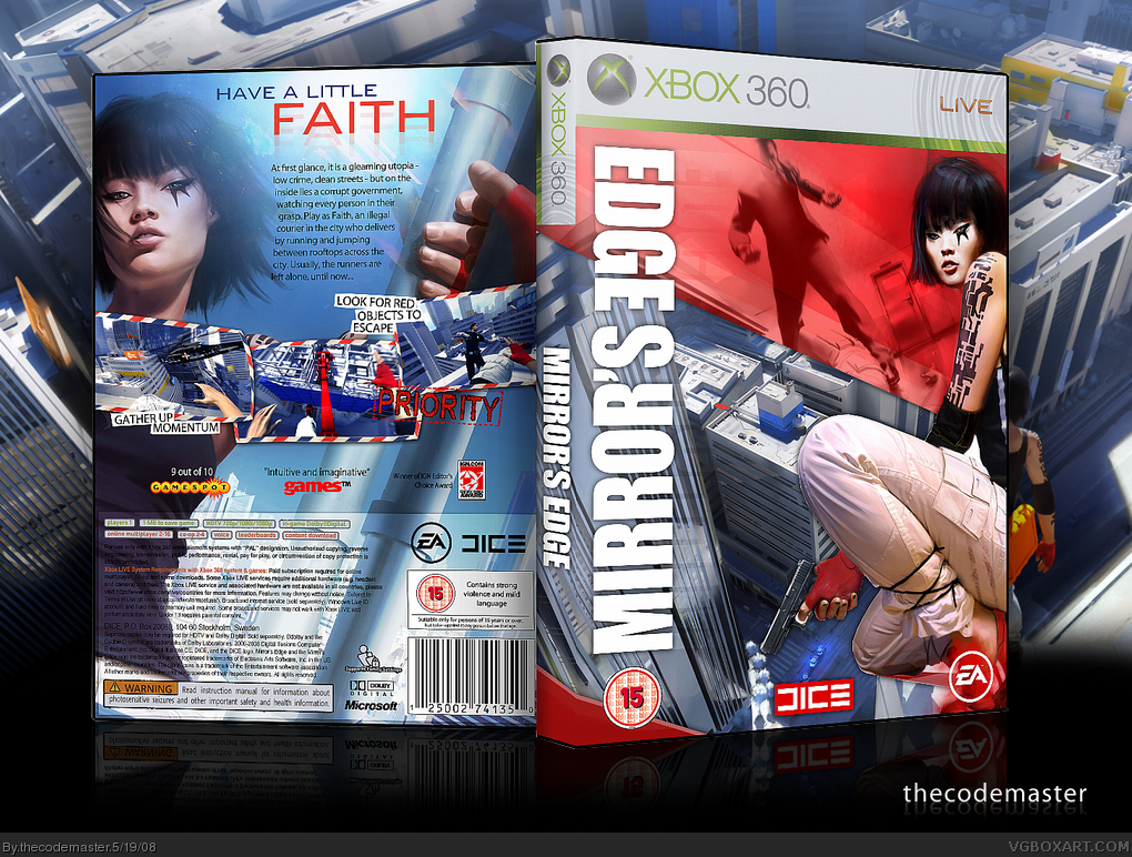 Free Mirror S Edge Patch 1.01 Download