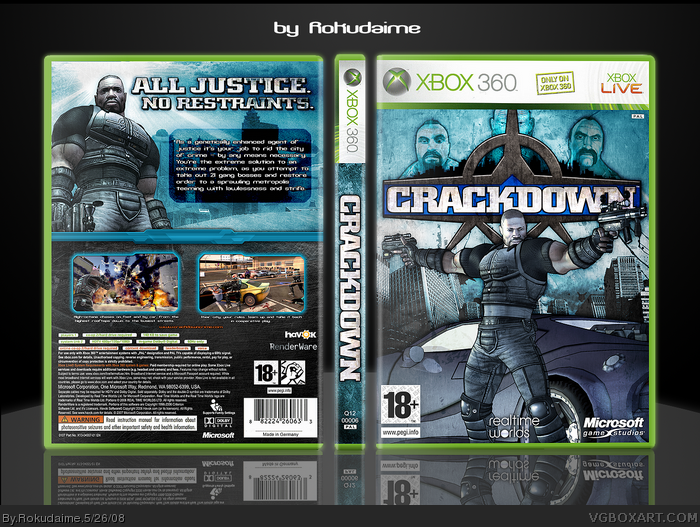 Crackdown 2007 Xbox 360 credits - MobyGames