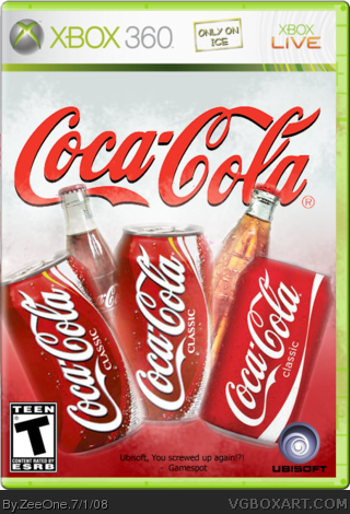 Coca Cola: The Game box cover