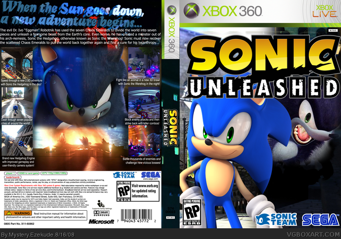 sonic unleashed pc full