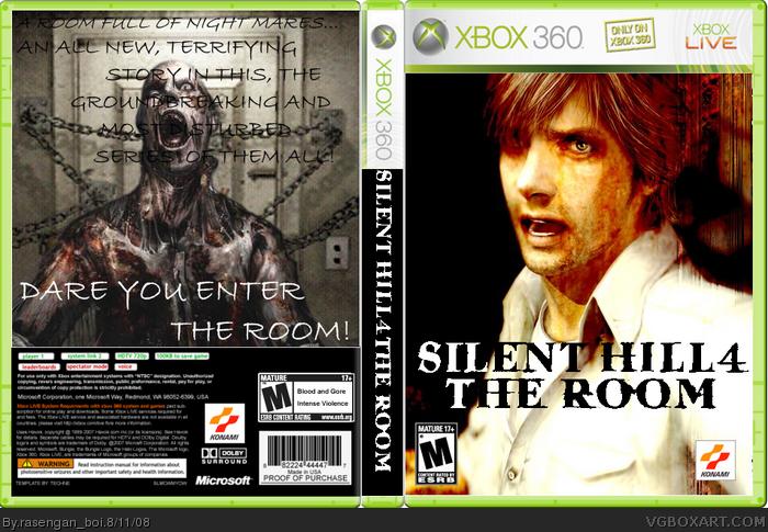 Silent Hill 4 Xbox 360 Box Art Cover by rasengan_boi