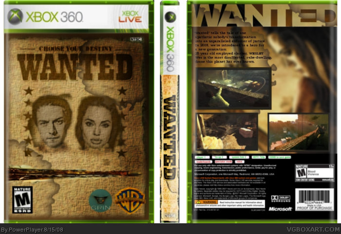Wanted box art cover