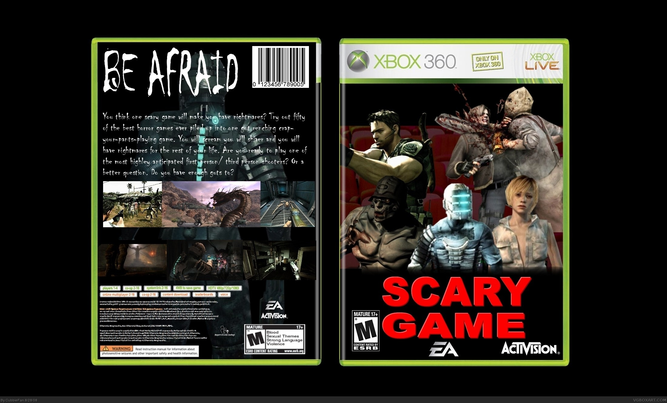top 5 scariest xbox games