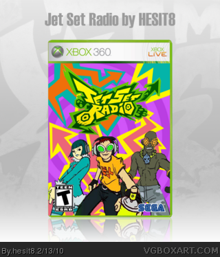 Jet Set Radio box art cover