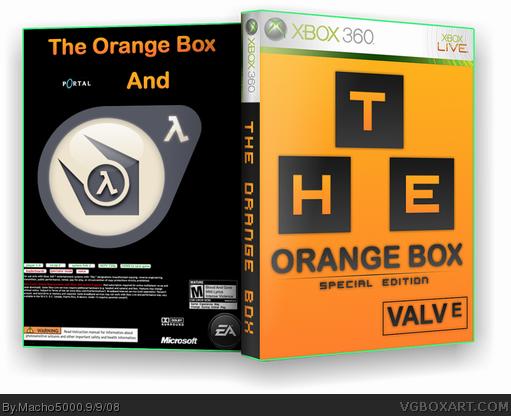 Xbox One Open Game Box Orange box download xb...