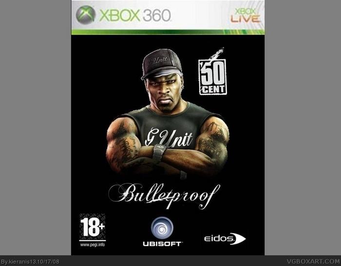 50 Cent Bulletproof Xbox 360 Box Art Cover By Kieranis13