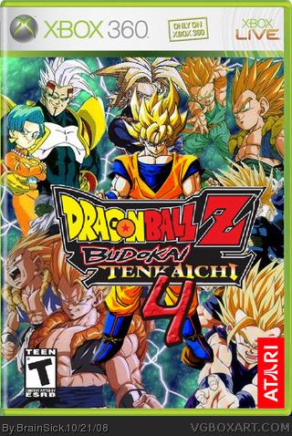 Xbox 360 » Dragonball Z:Budokai Tenkaichi 4 Box Cover
