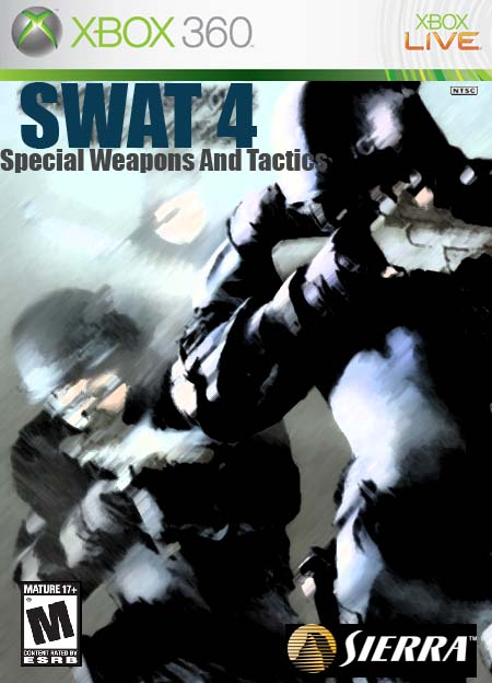 swat 4 xbox 360 box art cover by acdcrocks