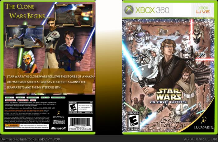 Star Wars The Clone Wars Box