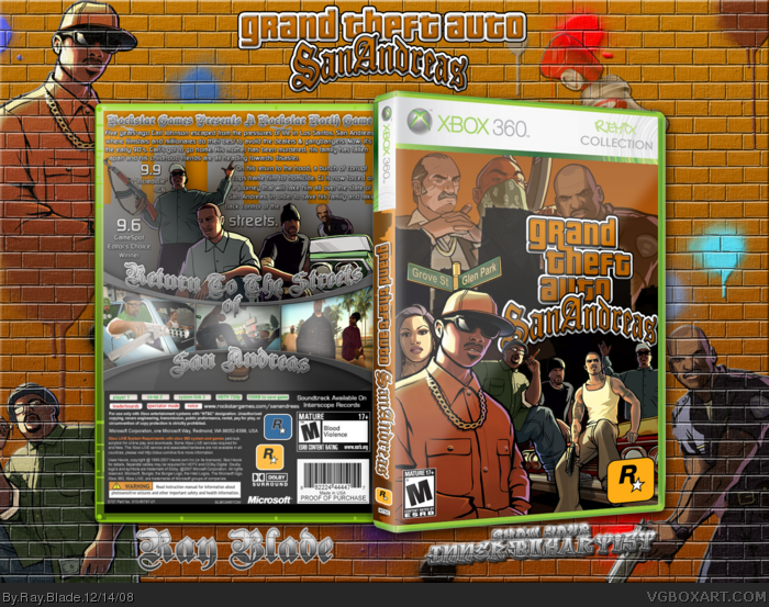 Grand theft auto san andreas xbox 360 [title update 1-2] ýndir.