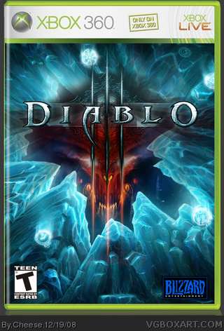 Diablo 3 box cover