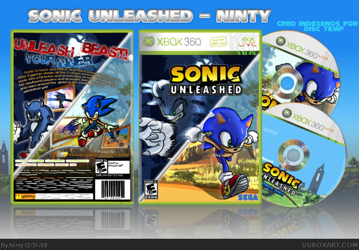 sonic unleashed ds