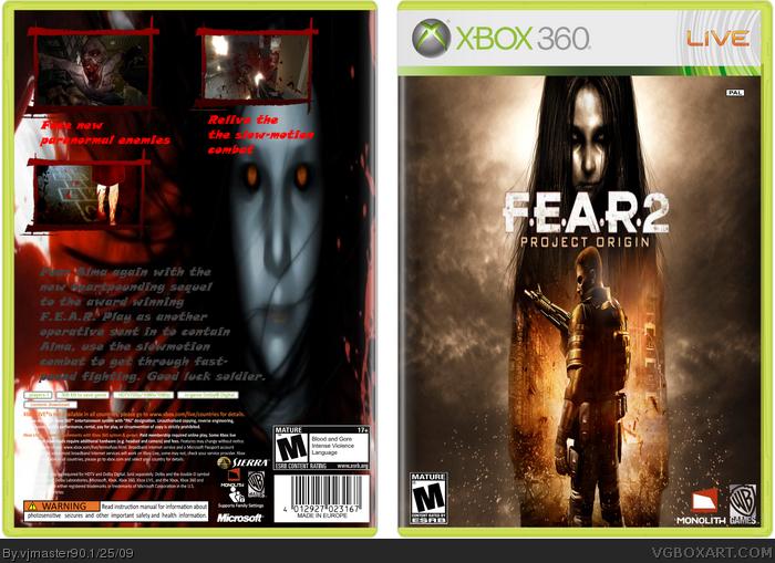 F. E. A. R. 2: project origin cover ita cover videogiochi.