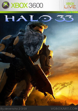 Halo 33 box art cover