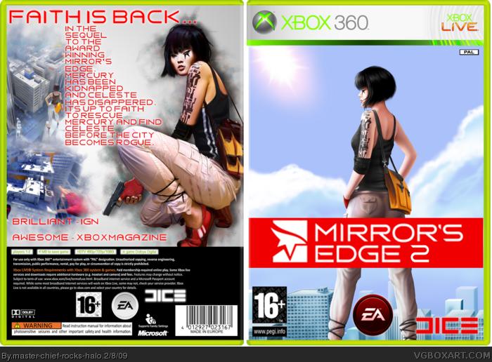 Xbox 360 » Mirror's Edge 2 Box Cover