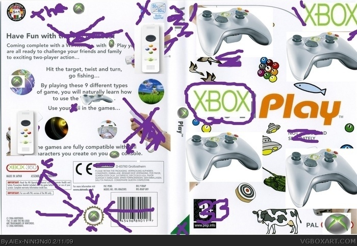 XboX Play Edition box art cover