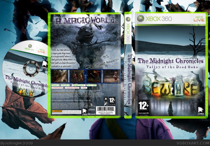 Midnight Chronicles: Valley of the Dead Oaks box art cover
