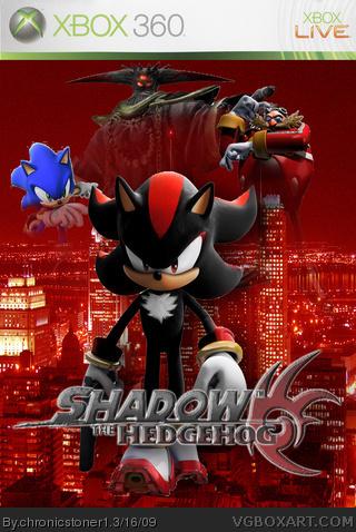 Xbox 360 » Shadow The Hedgehog Box Cover