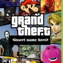 Grand Theft Insert Name Here Box Art Cover