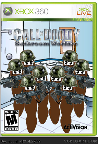 Call of Doody: Bathroom Warfare box cover
