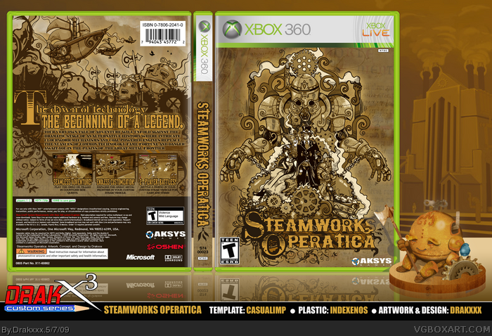 Steamworks Operatica box art cover