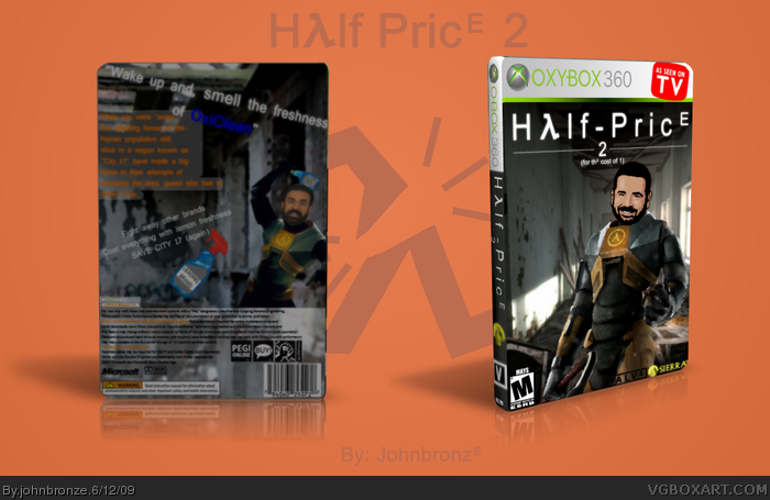 Half - Price 2 box art cover