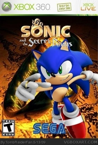 sonic and the seret rings