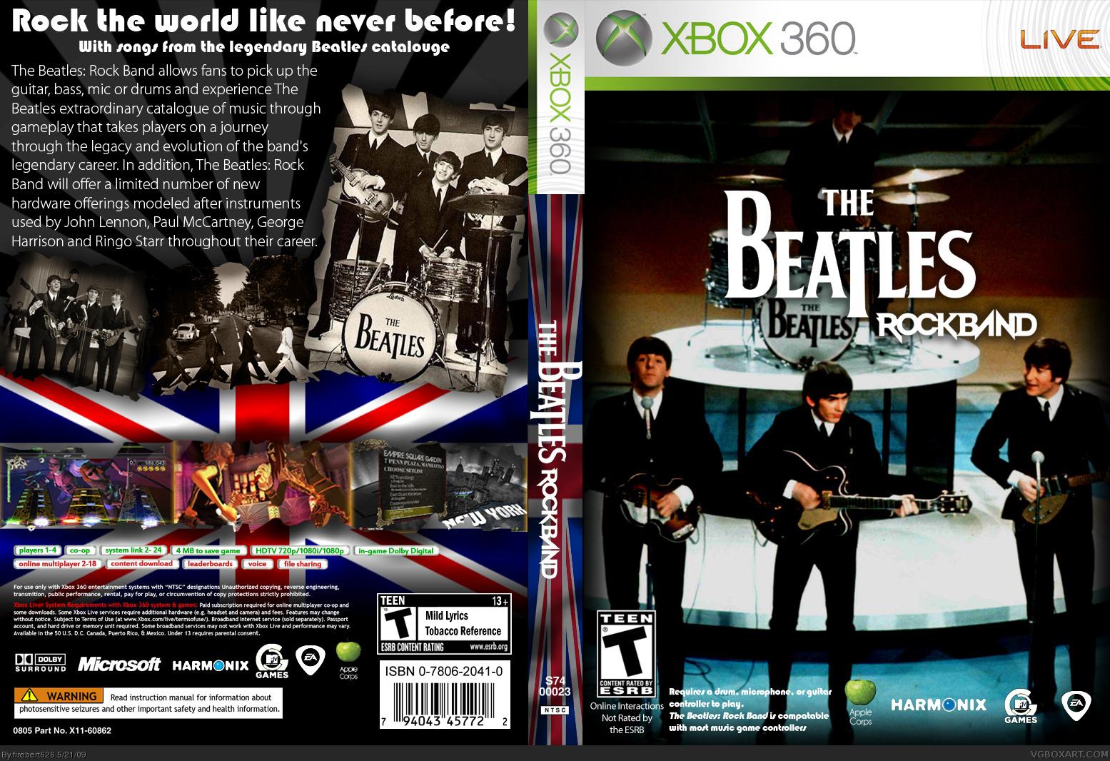 The Beatles: Rock Band - ChronoZoom (XBoxHistory)