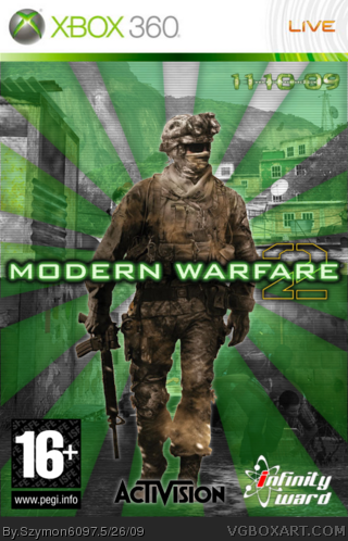 Modern Warfare 2 box cover