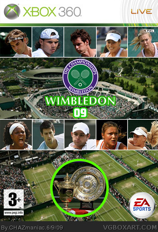 Wimbledon 09 box cover