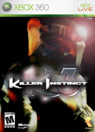 Xbox 360 » Killer Instinct 3 Box Cover