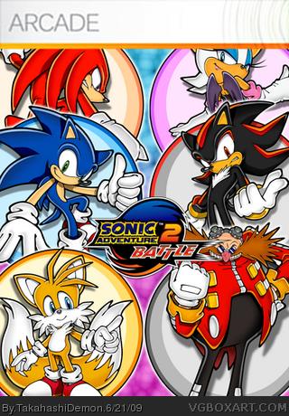 Sonic Adventure 2 Battle box cover