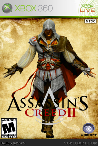 Assassin's Creed II box cover