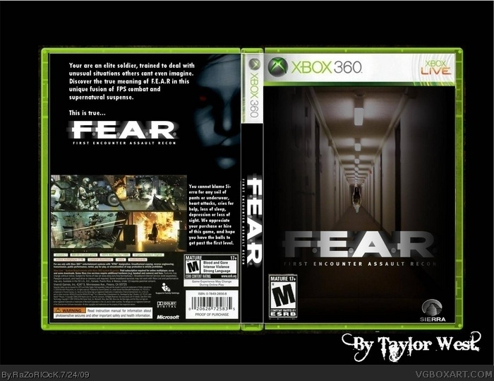 F.E.A.R. box art cover